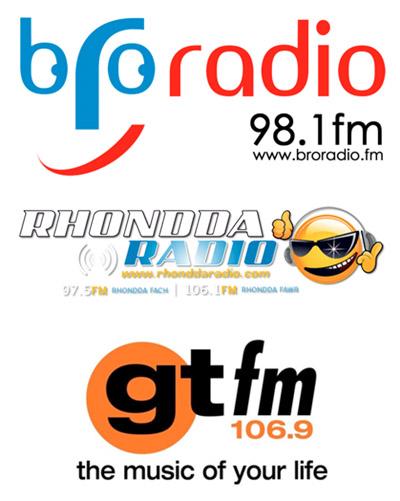 Bro Radio, Rhondda Radio, GTFM