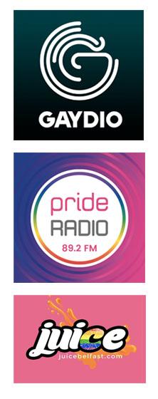 Gaydio, Pride Radio, Juice Belfast