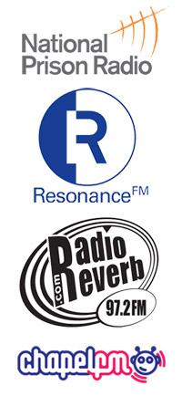 National Prison Radio, Resonance FM, Reverb FM and Chapel FM